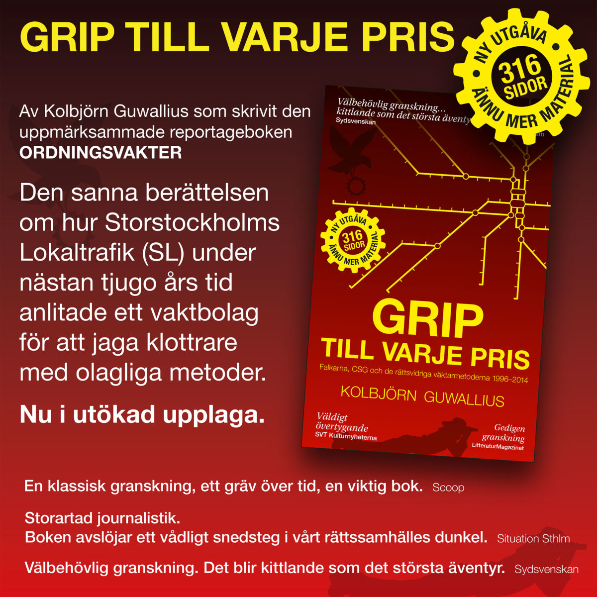 Ny utgåva av Grip till varje pris 2019!